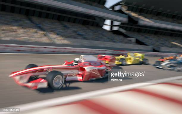 formula one type racing - grand prix motor racing stock pictures, royalty-free photos & images