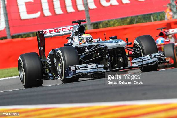 Formula One World Championship 2013, F1 Shell Belgian Grand Prix, #16 Pastor Maldonado of the Williams F1 team in action on Friday August 23rd