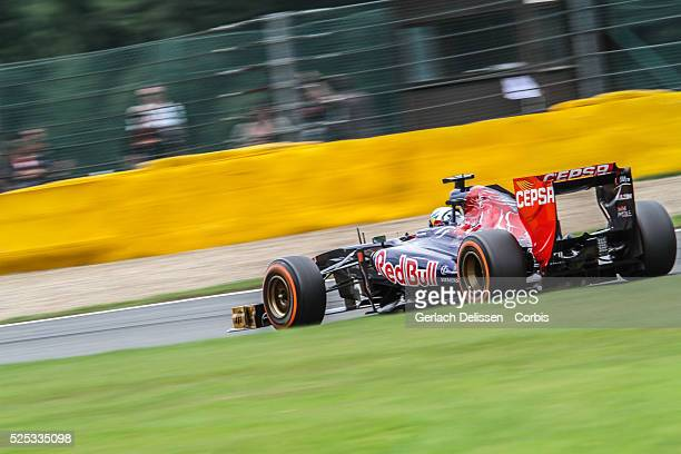 Formula One World Championship 2013, F1 Shell Belgian Grand Prix, #18 Jean-Eric Vergne of the Scuderia Torro Rosso F1 team in action on Sunday August...