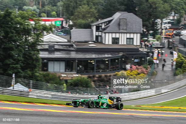 Formula One World Championship 2013, F1 Shell Belgian Grand Prix, #21 Giedo Van Der Garde of the Caterham F1 team in action on Friday August 23rd