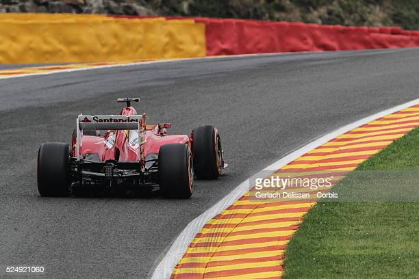 Formula One World Championship 2013, F1 Shell Belgian Grand Prix, #3 Fernando Alonso of the Scuderia Ferrari F1 team in action on Friday August 23rd