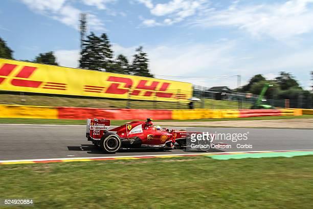Formula One World Championship 2013, F1 Shell Belgian Grand Prix, #4 Felipe Massa of the Scuderia Ferrari team in action on Friday August 23rd