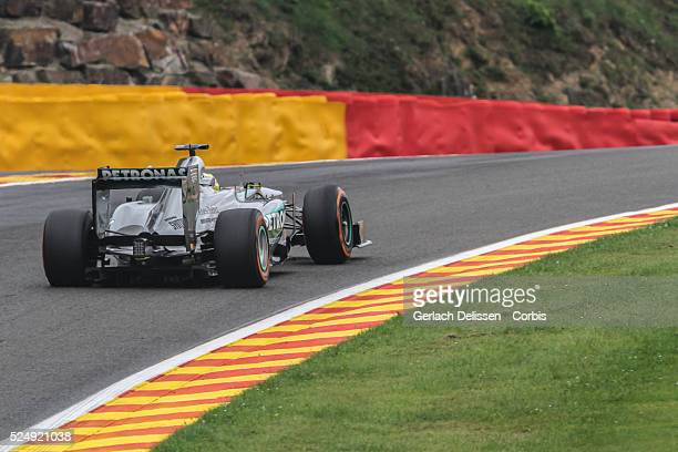 FIA Formula One World Championship 2013 F1 Shell Belgian Grand Prix #9 Nico Rosberg of the Mercedes F1 team in action on Friday August 23rd