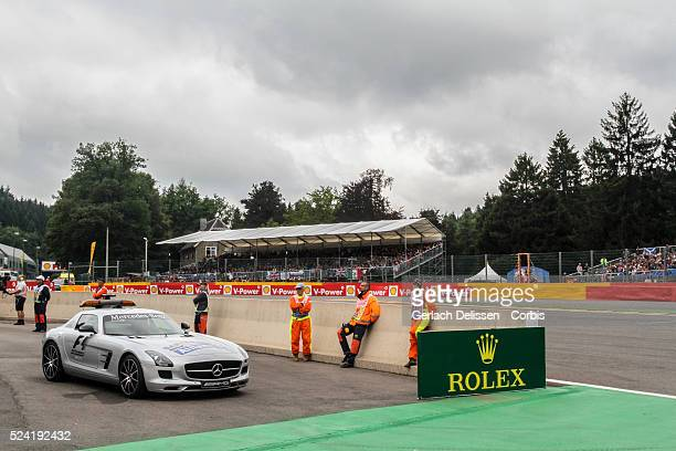 FIA Formula One World Championship 2013 F1 Shell Belgian Grand Prix safety car atmosphere and fans around the track on Sunday August 25th