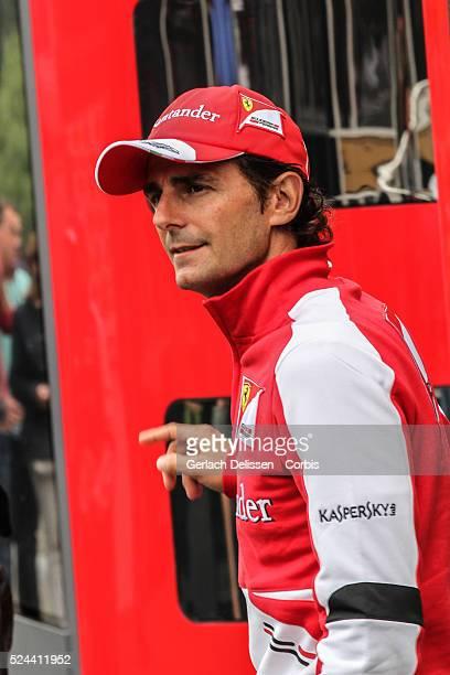 Formula One World Championship 2013, F1 Shell Belgian Grand Prix, former F1 driver Pedro De La Rosa in the paddock on Sunday August 25th