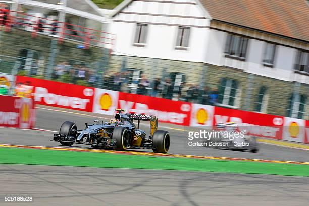 Formula One World Championship 2014, F1 Shell Belgian Grand Prix, McLaren Mercedes drive er Kevin Magnussen in action at the Spa-Francorchamps...