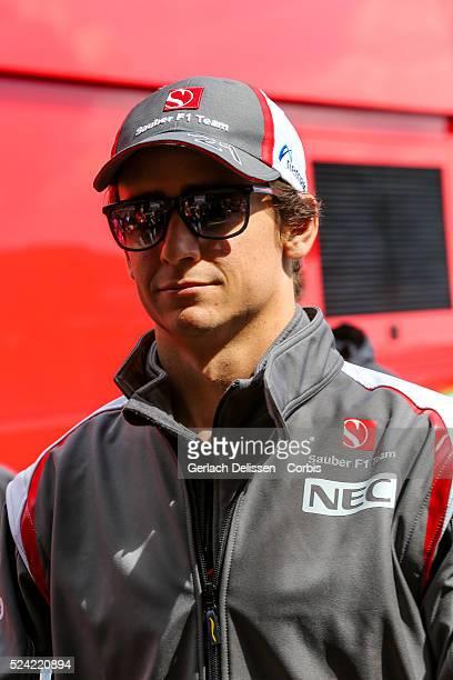 Formula One World Championship 2014, F1 Shell Belgian Grand Prix, Sauber F1 Team driver Esteban Gutierrez at the Spa-Francorchamps Circuit, on Sunday...