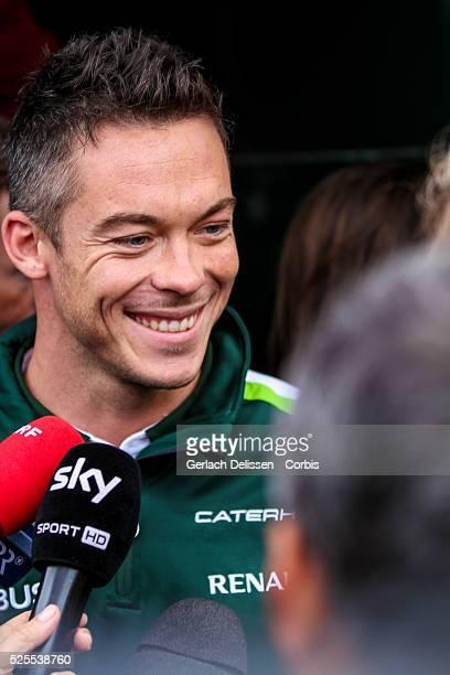 Formula One World Championship 2014, F1 Shell Belgian Grand Prix, Caterham F1 team driver Andr�� Lotterer , on Thursday August 21st.