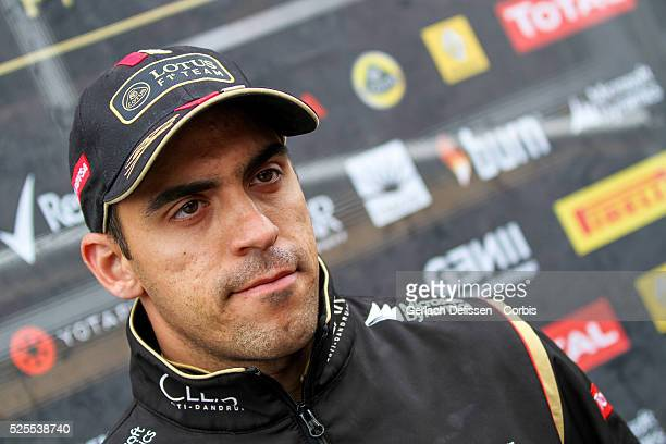 FIA Formula One World Championship 2014 F1 Shell Belgian Grand Prix Lotus F1 Team driver Pastor Maldonado on Thursday August 21st