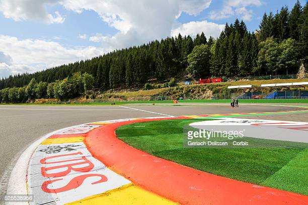 FIA Formula One World Championship 2014 F1 Shell Belgian Grand Prix Atmosphere impression on the busstop chicane at the SpaFrancorchamps Circuit on...