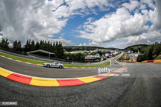 Formula One World Championship 2014, F1 Shell Belgian Grand Prix, Atmosphere impression on the Eau Rouge - Raidillon corner at the Spa-Francorchamps...
