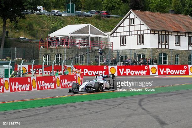 Formula One World Championship 2014, F1 Shell Belgian Grand Prix, Williams Martini Racing driver Felipe Massa in action at the Spa-Francorchamps...