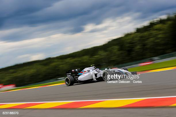 Formula One World Championship 2014, F1 Shell Belgian Grand Prix, Williams Martini Racing driver Valtteri Bottas in action at the Spa-Francorchamps...