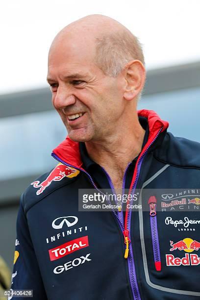 Formula One World Championship 2014, F1 Shell Belgian Grand Prix, Infiniti Red Bull Racing team chief technical officer Adrian Newey at the...