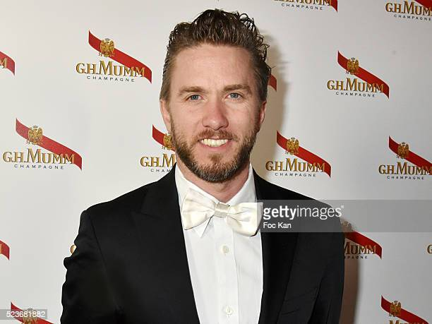 Formule E pilot Nick Heidfeld attends Mumm Grand Cordon Champagne Launch Party At The YoYo Club on April 23, 2016 in Paris, France.