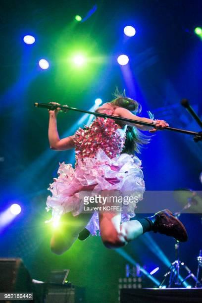 A forReal en concert live à la 'Japan Expo' le 5 juillet 2014 au parc des expositions à Villepinte France