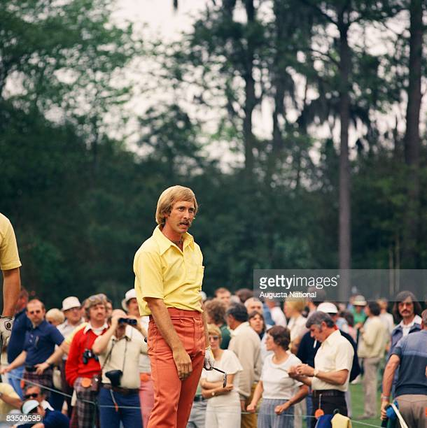 Forrest Fezler during the 1975 Masters Tournament at Augusta National Golf Club in April 1975 in Augusta Georgia