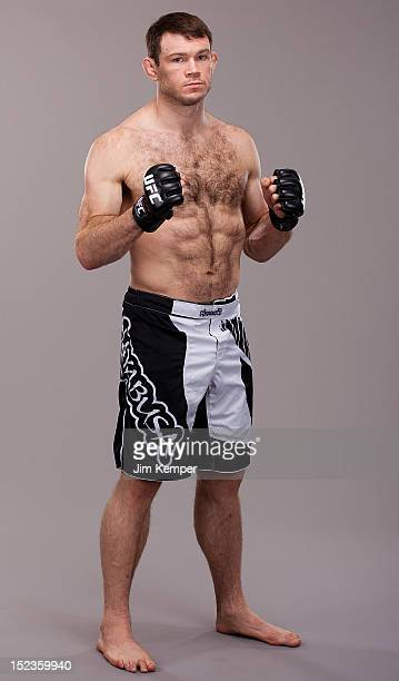 Forrest Griffin poses for a portrait on July 4, 2012 in Las Vegas, Nevada.