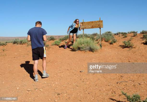 Forrest Gump stopped here, Hundreds of people from all over the world come to this spot each day in Monument Valley, Utah to reenact a scene from...