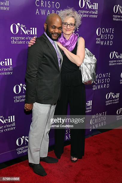 Forrest McClendon and Rachel Jett attend the 16th Annual Monte Cristo Award ceremony honoring George C Wolfe presented by The Eugene O'Neill Theater...