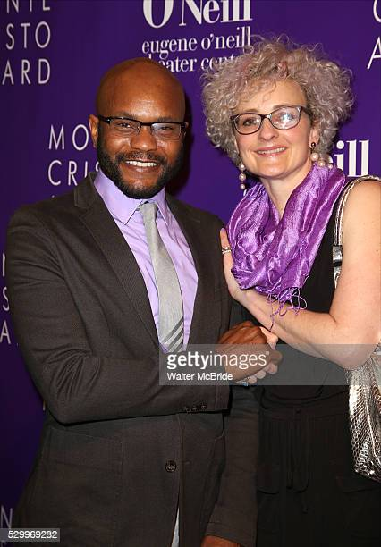 Forrest McClendon Rachel Jett attend the 16th Annual Monte Cristo Award ceremony honoring George C Wolfe presented by The Eugene O'Neill Theater...
