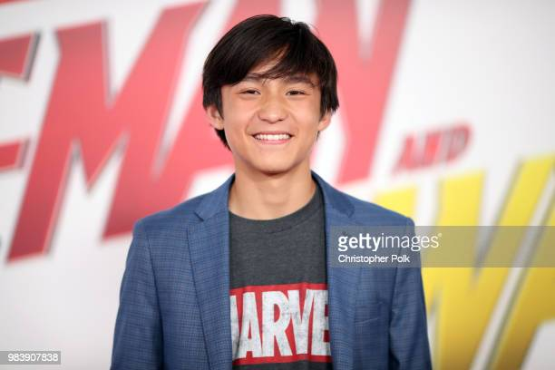 Forrest Wheeler attends the premiere of Disney And Marvel's 'AntMan And The Wasp' on June 25 2018 in Los Angeles California
