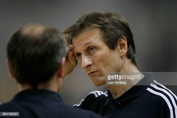 Forsikring World Cup National Team Coach Jan Pytlick assistantcoach Kim Jensen Danmark