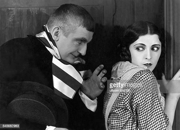 Forster Rudolf *30101884 Actor Austriawith Jenny Jugo in the movie 'Die Hose' 1927