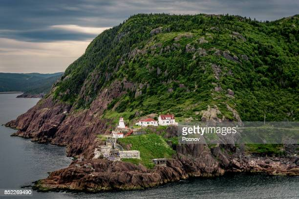 fort amherst in st. john's - st. john's newfoundland stock photos and pictures