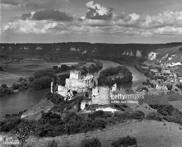 A Fort At Petite De Andelay In France built by Richard The Lion Heart 1955