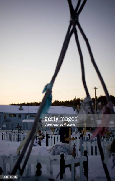 CHIPEWYAN ALBERTA CANADA NOVEMBER 2008 Fort Chipewyan is an isolated Native Indian reservation located at the end of the Atabasca River The river is...
