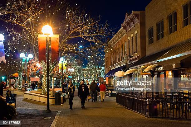 Fort Collins at Night