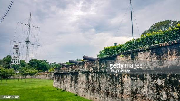 fort cornwallis in penang malaysia - east stock pictures, royalty-free photos & images