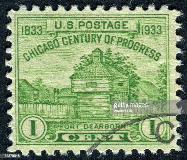 Fort Dearborn Stamp