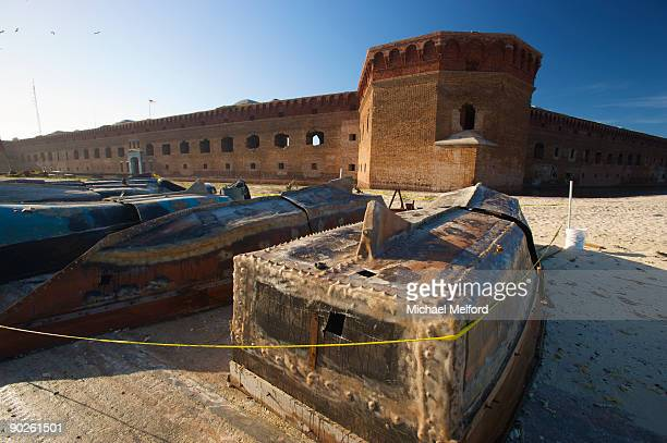 refugee boats from cuba. - dry tortugas stock pictures, royalty-free photos & images