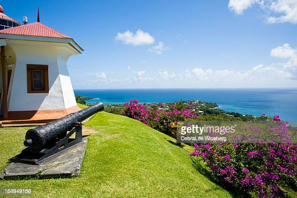 fort king george - trinidad and tobago stock pictures, royalty-free photos & images