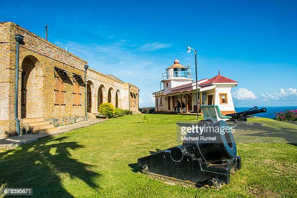 Fort King George, Scarborough, Tobago, Trinidad and Tobago, West Indies, Caribbean, Central America