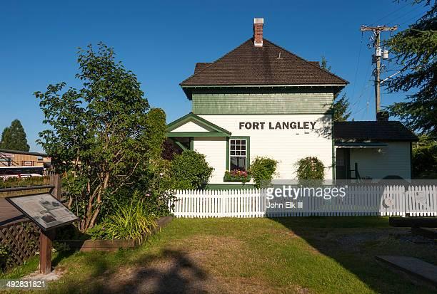 Fort Langley, train station