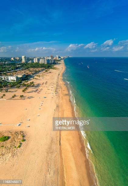 fort lauderdale aerial - fort lauderdale stock pictures, royalty-free photos & images
