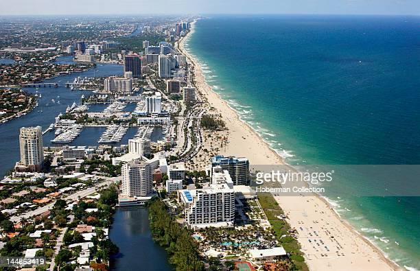 Fort Lauderdale Coastline Aerial