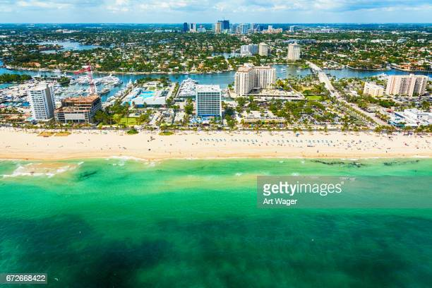 Vista aérea de Fort Lauderdale Florida