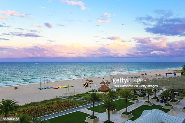 Fort Lauderdale idyllic beach, Florida, USA