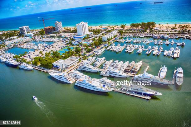 Fort Lauderdale Marina From Above