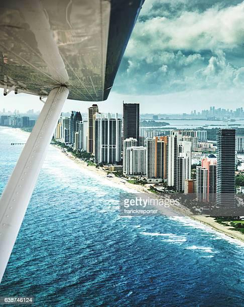 Fort Lauderdale strip Luftaufnahme