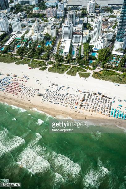 fort lauderdale strip aerial view - fort lauderdale stock pictures, royalty-free photos & images