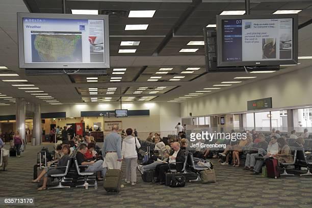 Fort LauderdaleHollywood International Airport waiting area