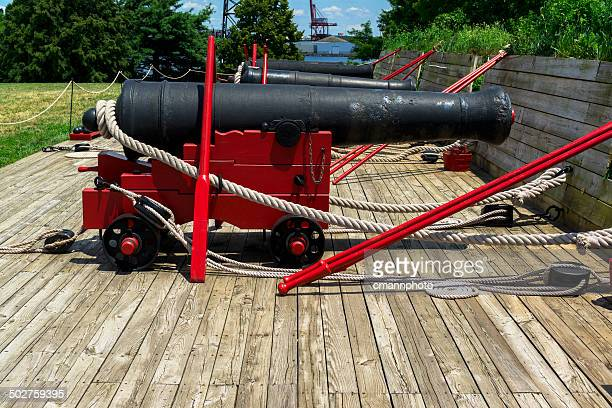 Fort McHenry Cannons