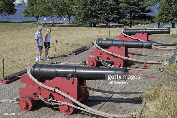 Fort McHenry National Monument and Historic Shrine cannons