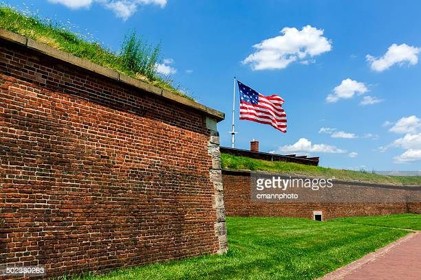 fort mchenry - fort mchenry stock photos and pictures