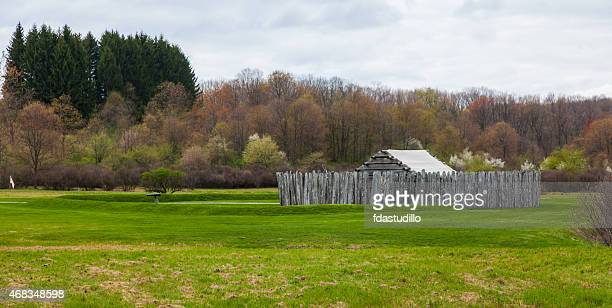 fort necessity national battlefield - french_and_indian_war stock pictures, royalty-free photos & images